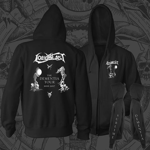 "LOUDBLAST ""Sublime Dementia"" Zip Up Hoodie"