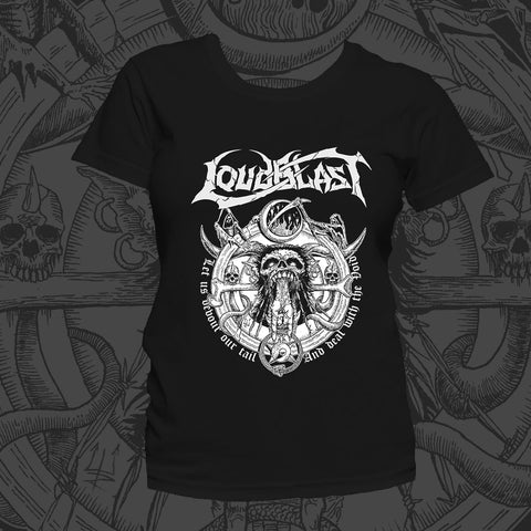 "LOUDBLAST ""... With void"" Girly T-SHIRT"