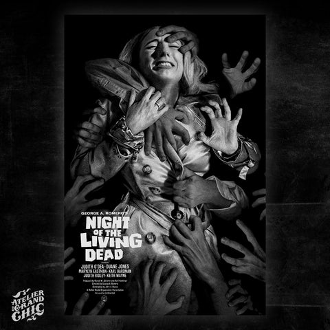 « NIGHT OF THE LIVING DEAD » (B&W)