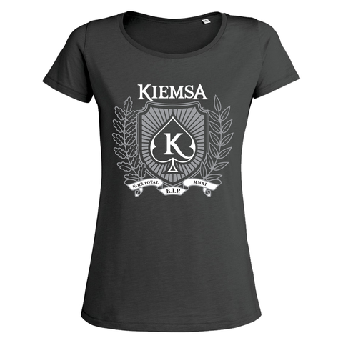 "KIEMSA ""Noir Total"" T-Shirt Women"