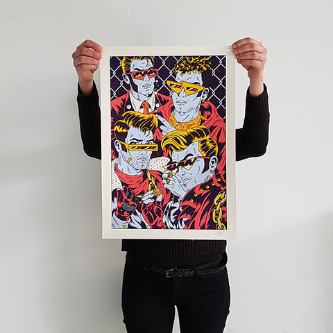 "FREAK CITY ""Boyz"" Screen Print"