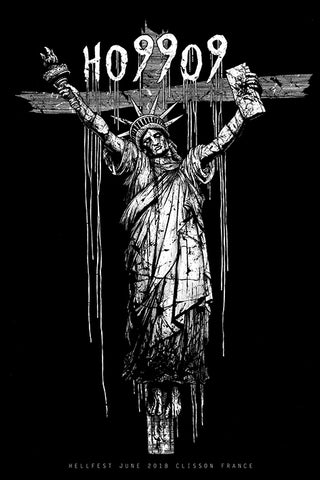"HO99O9 Crucified ""Hellfest 2018"" Screen Print"