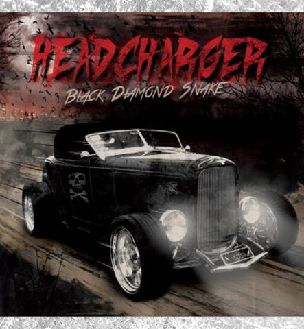 "HEADCHARGER - CD ""Black Diamond Snake"""