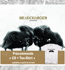 "HEADCHARGER ""CD + T-Shirt"" BUNDLE"