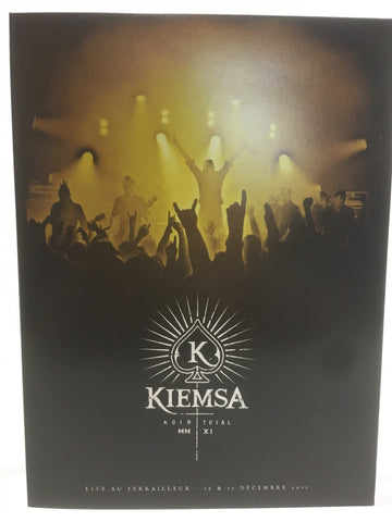 "KIEMSA ""Noir Total"" 2 x CD + DVD (Live 2011)"