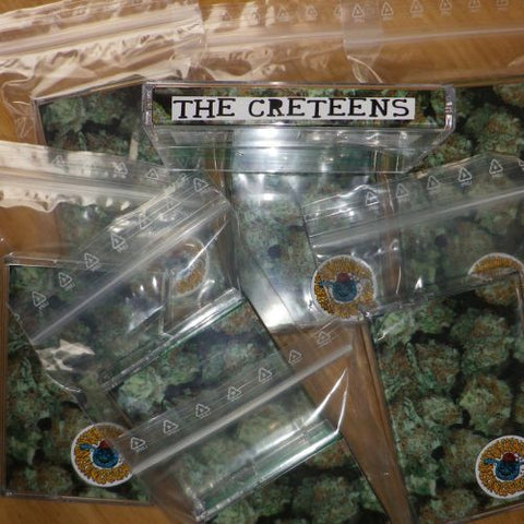 "THE CRETEENS ""Self Titled"" Tape"