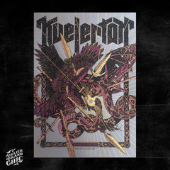 "KVELERTAK ""EUROPEAN TOUR 2020"" SCREEN PRINT"
