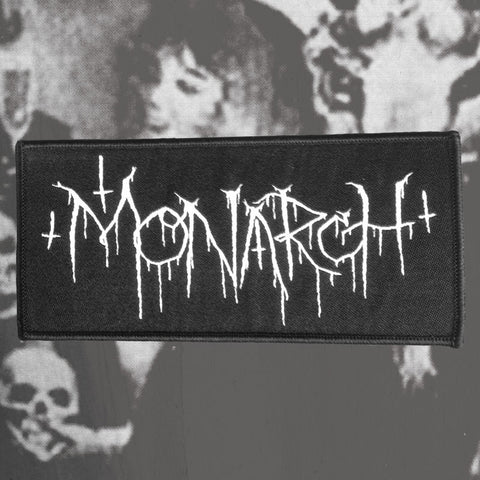 "MONARCH ""LOGO"" WOVEN PATCH"