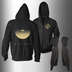 "CULT OF LUNA ""Mariner Tour"" Zip Up Hoodie"