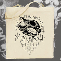 "MONARCH ""Mass Öv Dööm"" Tote Bag"