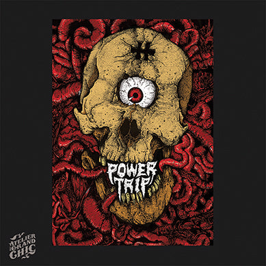 "POWERTRIP ""HELLFEST 2019"" SCREEN PRINT"