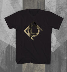 "CULT OF LUNA ""Gold Vertikal Lines"" Men T-shirt"