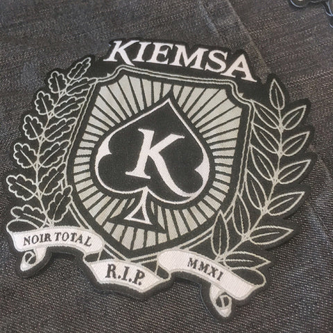 "KIEMSA ""Noir Total"" PATCH"