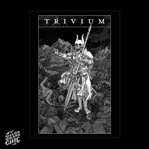"TRIVIUM ""HELLFEST 2017"" SCREEN PRINT"