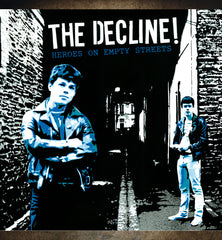 "THE DECLINE ! ""Heroes On Empty Streets"" CD"