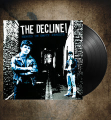 "THE DECLINE ! ""Heroes On Empty Streets"" LP"