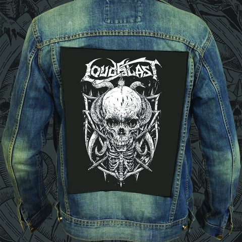 "LOUDBLAST ""Skull"" Backpatch"