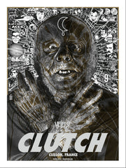 "CLUTCH ""Hellfest 2017"" Screen Print"