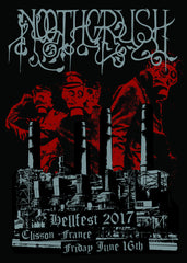 "NOOTHGRUSH ""Hellfest 2017"" Screen Print"