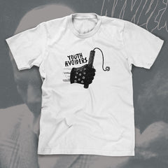 "YOUTH AVOIDERS ""Dynamite"" Men white Tshirt"