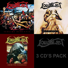 "LOUDBLAST ""3 cd pack"" CD digipack reissue"