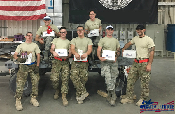 MPOWERD Partners with Operation Gratitude in Recognition of  Military Appreciation Month