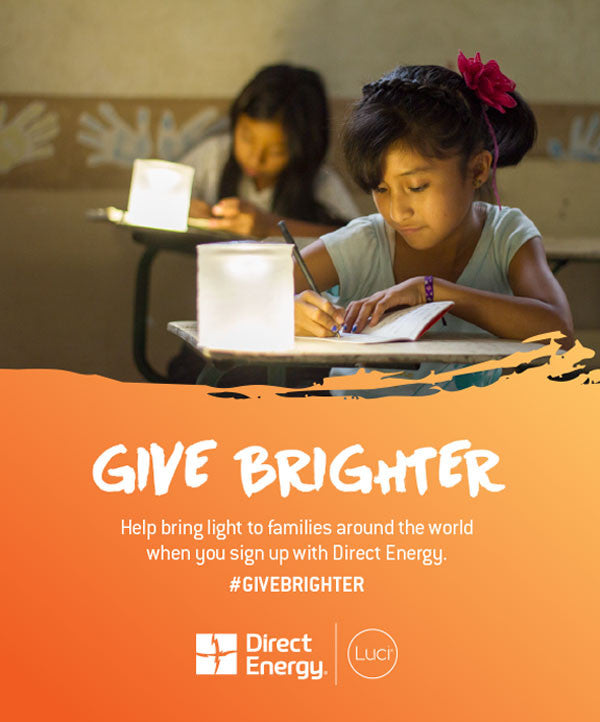 Direct Energy Announces Partnership with MPOWERD to Distribute Luci Inflatable Solar Lights