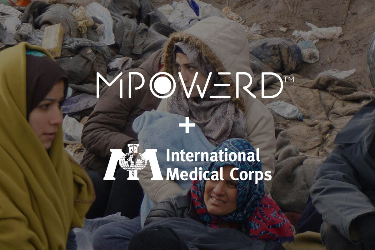 MPOWERD Inc. and International Medical Corps Partner to Provide Solar Lights to Refugees in Need