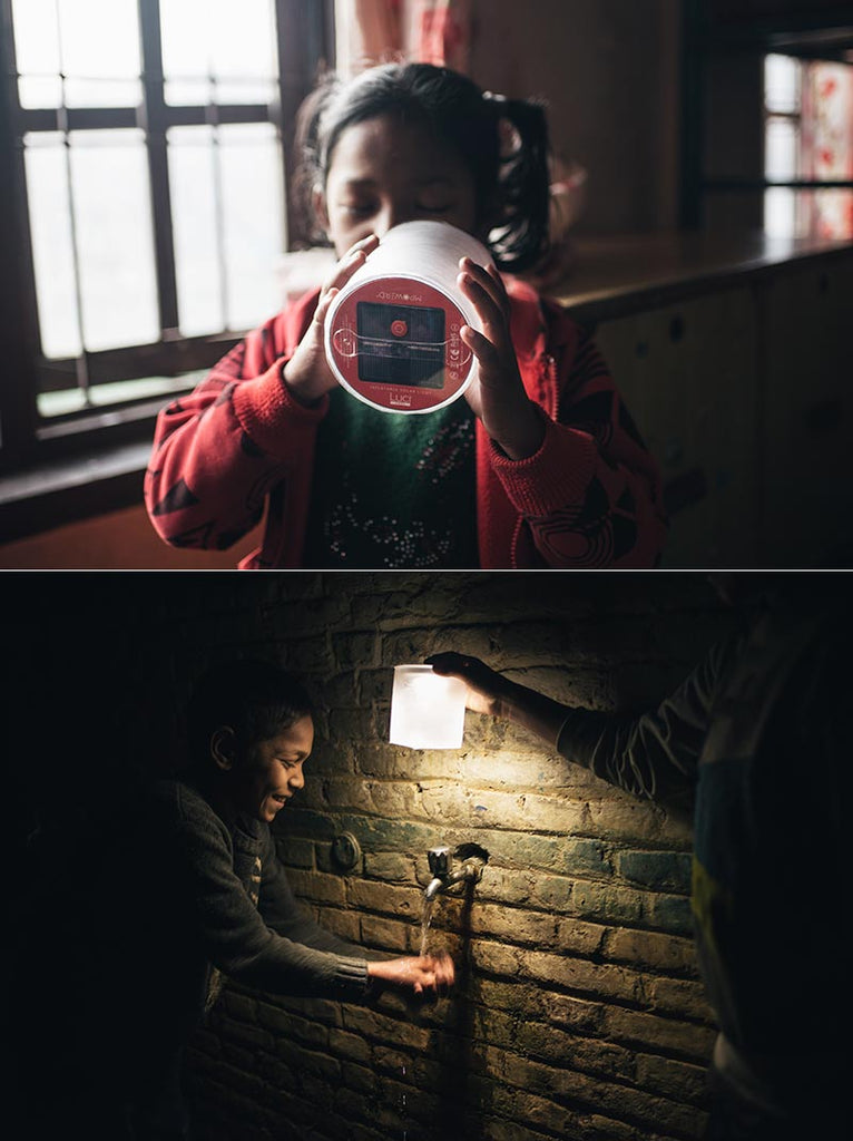 Luci in Nepal