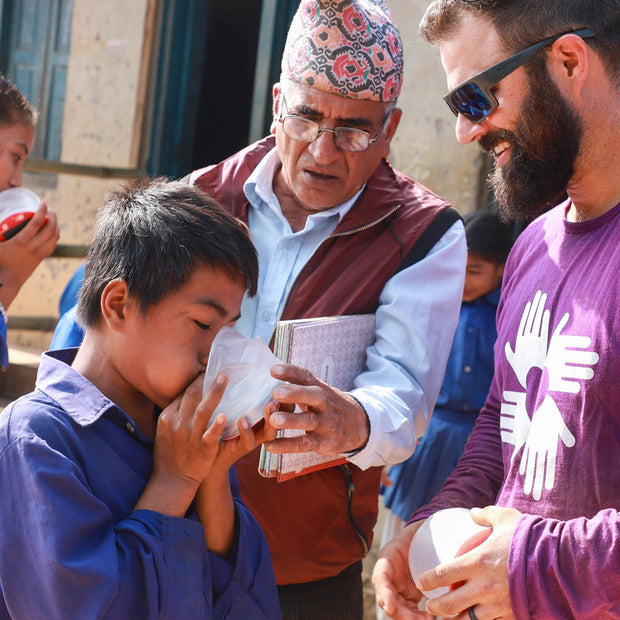 Give a Light to Kids in Nepal