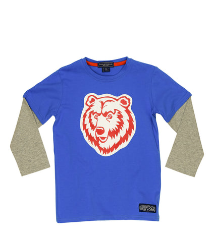 Grizzly | Baby Long Sleeve Blue