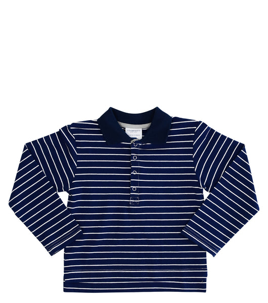 Pierce | Long Sleeve Polo