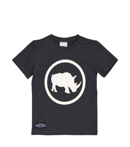 Camp Rhino | Short Sleeve Charcoal