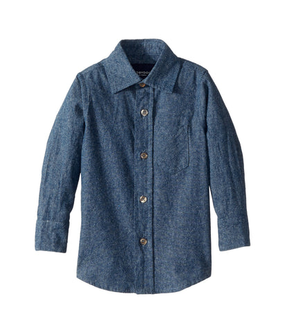 The Champ I Dark Chambray Shirt