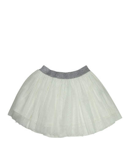 White | Tulle Skirt