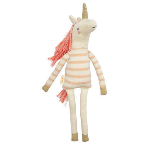 Knit Unicorn Doll