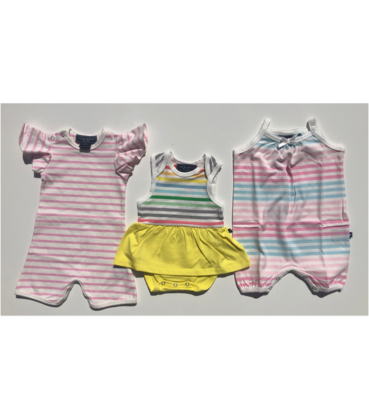 Unicorn Stripes / 0-3 M