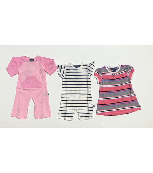 Heather & Stripe / 3-6M