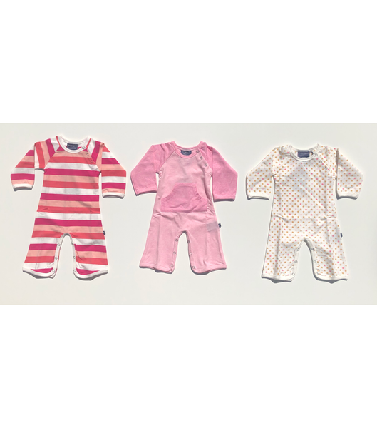 Jazzy Jumpsuits / 0-3 M