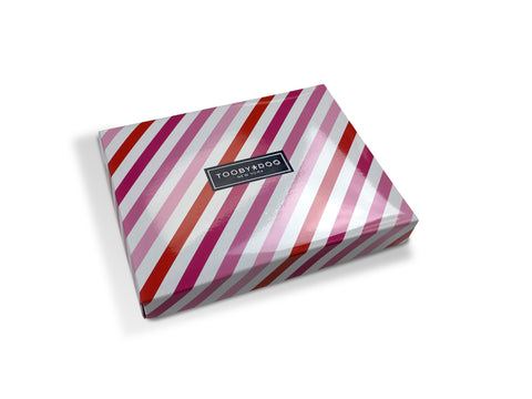 Gift Box | Pink Stripe