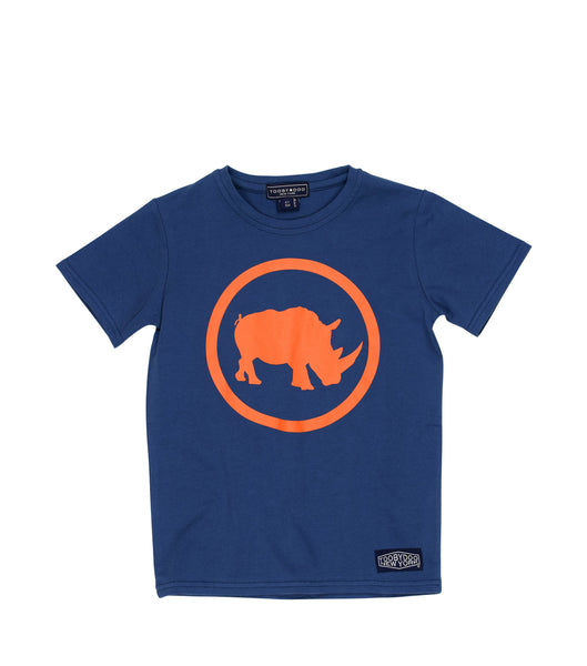 Camp Rhino | Short Sleeve Navy