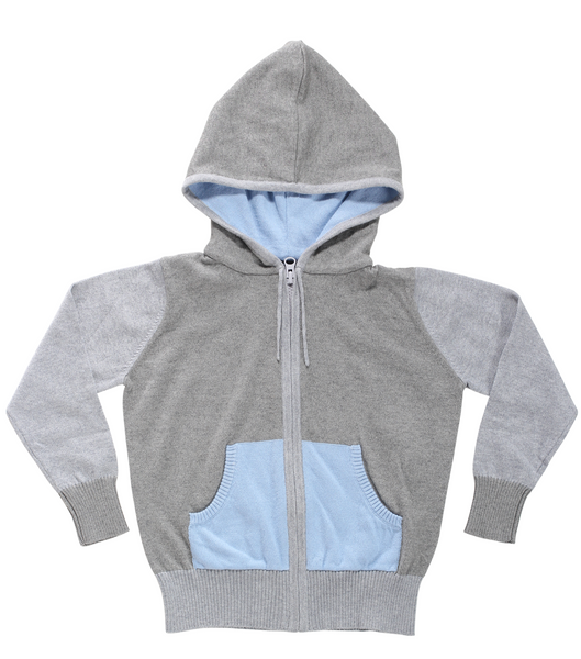 Happy Hoodie | Light Blue