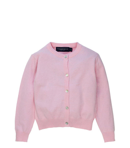 Pink | Cashmere Cardigan