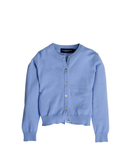 Periwinkle | Cashmere Cardigan