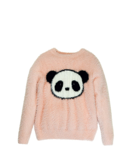 Furry Panda | Fuzzy Sweater