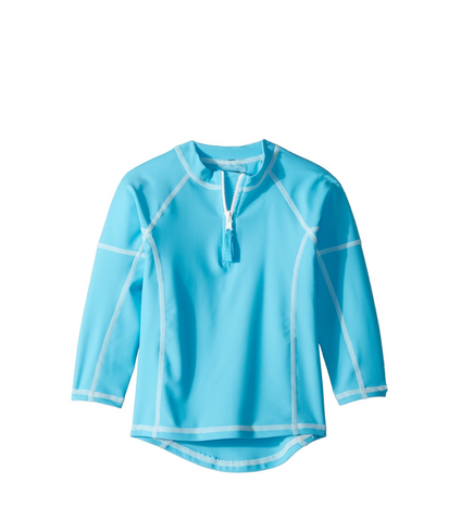 Cape Aqua | Long Sleeve Rash Guard