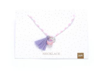 PPK BIRD NECKLACE PINK