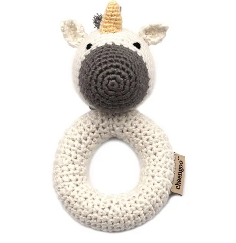 CGO UNICORN RING RATTLE