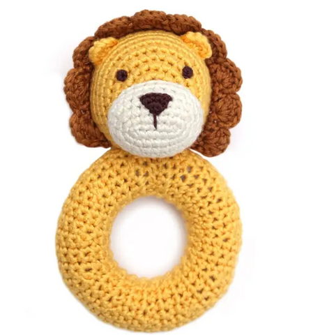 CGO LION RING RATTLE