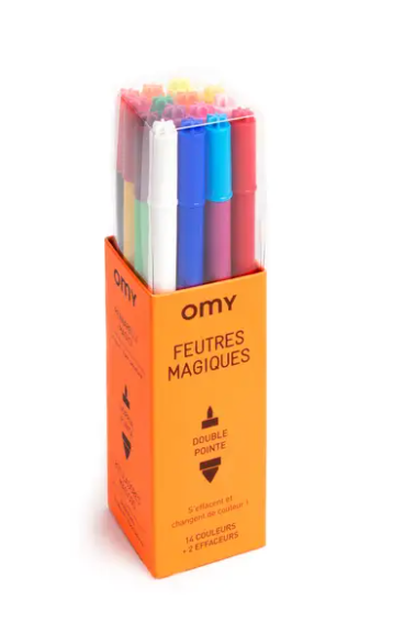 OMY MAGIC COLOR CHANGING MARKERS